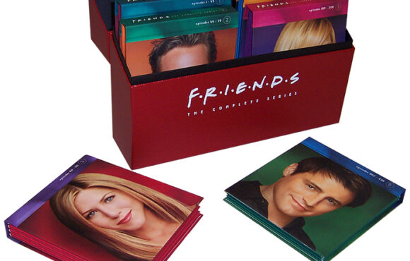 Friends DVD Series Packaging