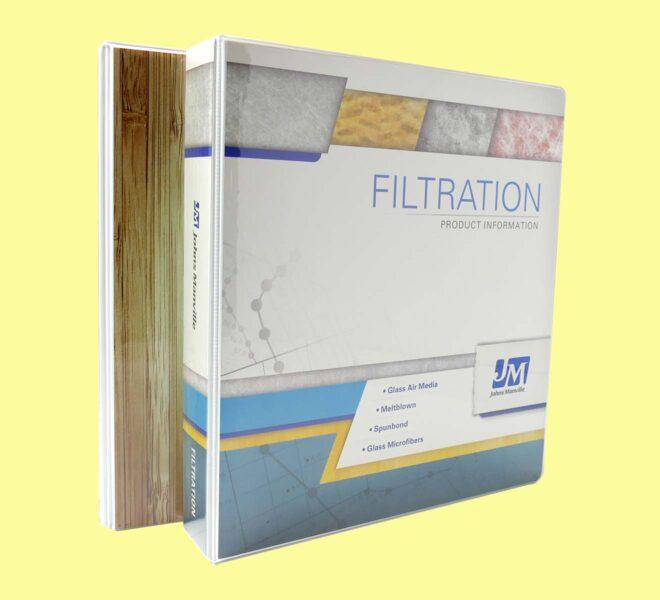 Entrapment-Binders-custom binders with printed sheets