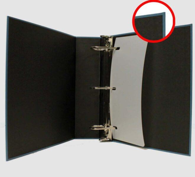 Turned Edge Binders-custom turne edge binder unified packagding made in the USA