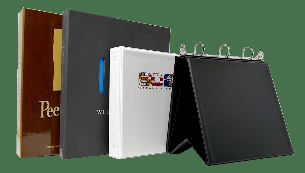 custom binders BY binder experts unifiedpackaging.com