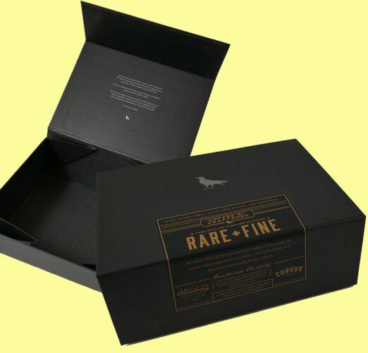Coffee Beverage Packaging Magnet Closure rigid box