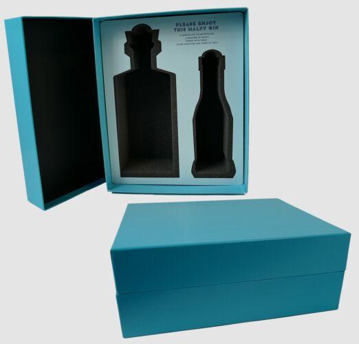 Custom Beverage Packaging detachable lid two piece ridgid box