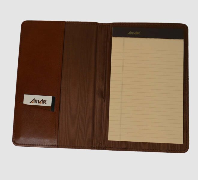 Custom-padfolios-unified-packaging-Leather-Padfolio